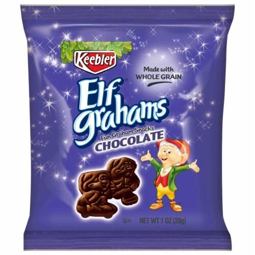 Cracker Keebler Elf Graham Chocolate 150 Case 1 Ounce Perspective: front