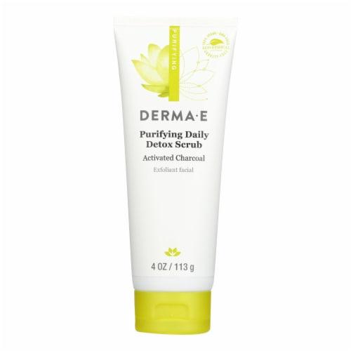 Derma E - Scrub - Purifying Daily Detox - 4 oz. Perspective: front