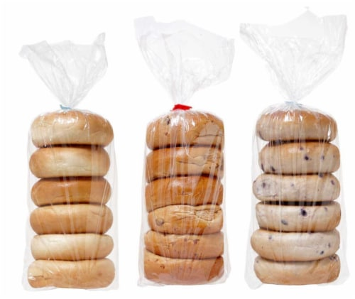 Sara Lee Par Baked Bagel - Variety Pack , 24 Ounce -- 12 bags per case. Perspective: front