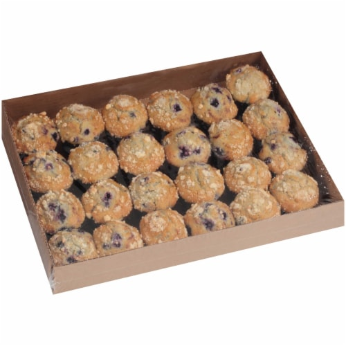 Chef Pierre Small Blueberry Muffin, 2.13 Ounce -- 96 per case. Perspective: front