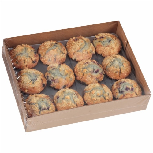 Chef Pierre Large Blueberry Muffin, 4.25 Ounce -- 48 per case. Perspective: front