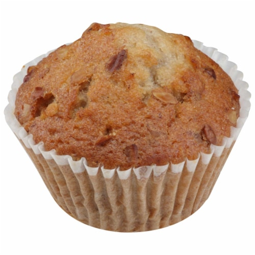Chef Pierre Large Banana Nut Muffin -- 48 per case. Perspective: front