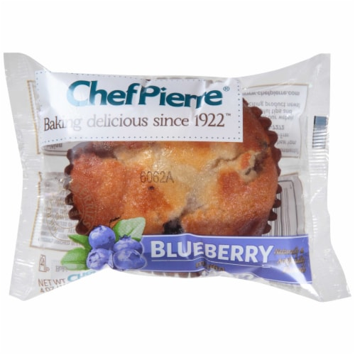 Chef Pierre Blueberry Muffin, 4.75 Ounce -- 24 per case. Perspective: front