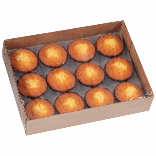 Chef Pierre Large Corn Muffin -- 48 per case. Perspective: front