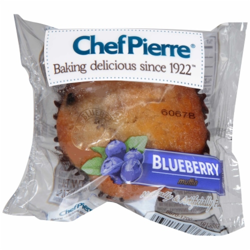 Chef Pierre Blueberry Muffin, 2 Ounce -- 48 per case. Perspective: front