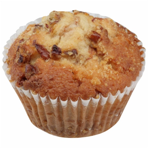 Chef Pierre Large Cinnamon Pecan Coffeecake Muffin, 4.75 Ounce -- 48 per case. Perspective: front