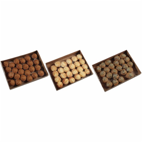 Chef Pierre Small Muffin - Variety Pack, 2 Ounce -- 96 per case Perspective: front