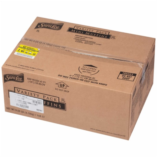 Chef Pierre Mini Muffin - Variety Pack -- 162 per case. Perspective: front