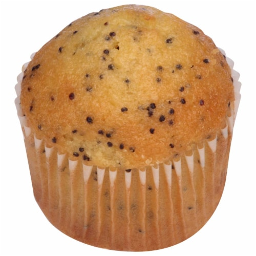 Chef Pierre Mini Lemon Poppyseed Muffin, 0.9 Ounce -- 108 per case. Perspective: front