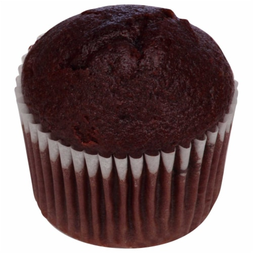 Chef Pierre Mini Double Chocolate Chunk Muffin, 0.9 Ounce -- 108 per case. Perspective: front