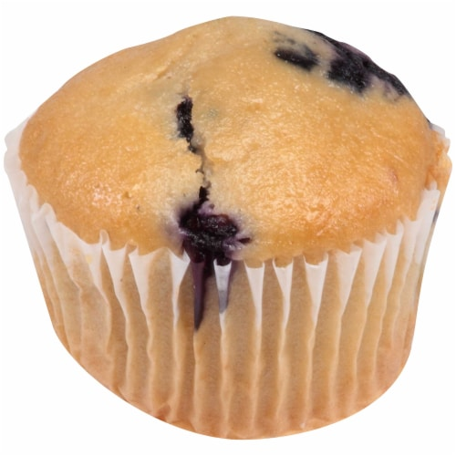 Chef Pierre Individually Wrapped Whole Grain Blueberry Muffin, 2 Ounce -- 48 per case. Perspective: front