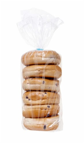 Sara Lee Blueberry Jumbo Bagel, 12 Ounce -- 72 per case. Perspective: front