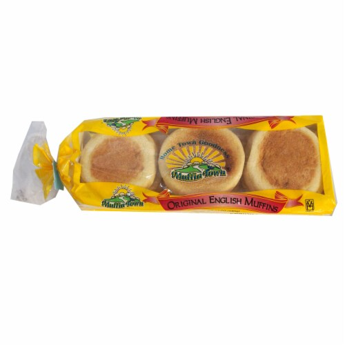 Muffin Town Sliced English Muffin, 2 Ounce -- 144 per case. Perspective: front