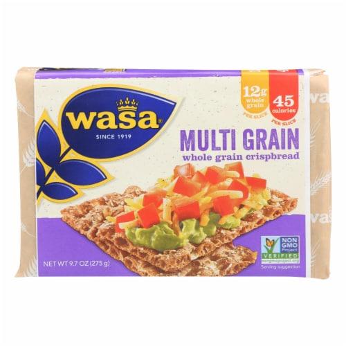 Wasa Multigrain Whole Grain Crispbread Perspective: front