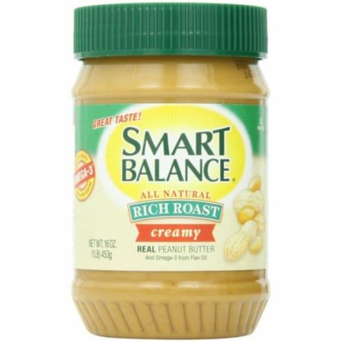 Smart Balance Rich Roast Creamy Peanut Butter Perspective: front