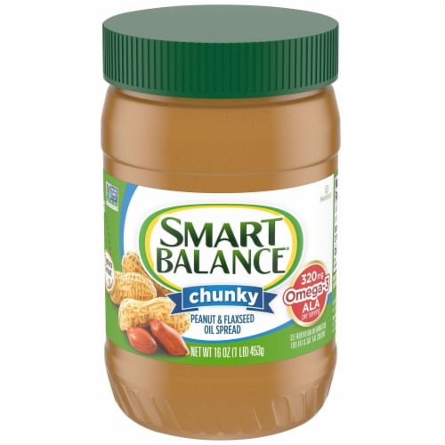 Smart Balance Rich Roast Chunky Peanut Butter Perspective: front