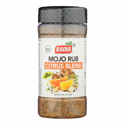 Badia Spices - Rub Mojo Citrus Blend - Case of 6 - 5 OZ Perspective: front
