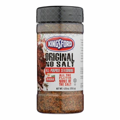Badia Spices All-Purpose Seasoning Original - Case of 6 - 4.25 OZ Perspective: front