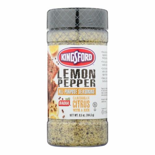 Badia Spices - Seasoning Lemon Pepper - Case of 6 - 6.5 OZ Perspective: front