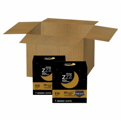 Always ZZZ Small/Medium Period Underwear Perspective: front
