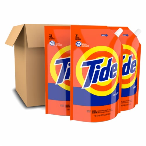 Tide Regular Liquid Laundry Detergent Perspective: front