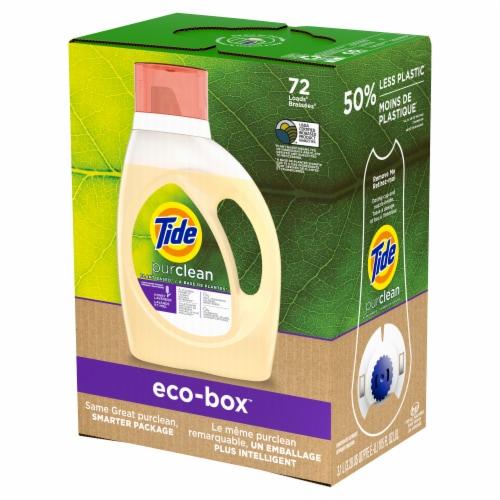 Tide Purclean Honey Lavender Liquid Laundry Detergent Perspective: front
