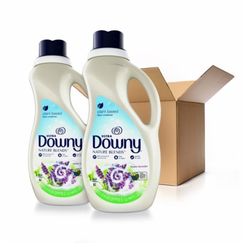 Downy Nature Blends Honey Lavender Liquid Fabric Conditioner Perspective: front