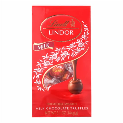 Lindt - Truffles Milk Chocolate Bag - Case of 6-5.1 oz Perspective: front