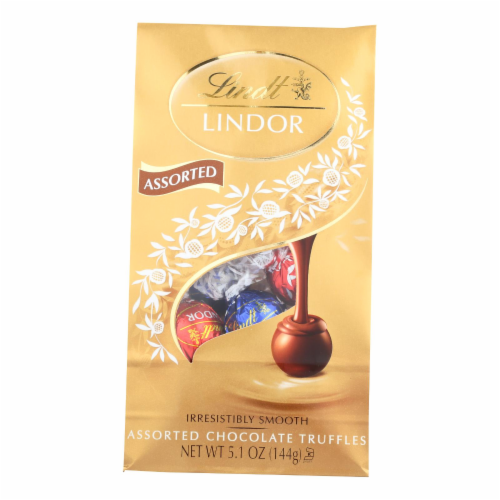 Lindt - Truffles Chocolate Bag - Case of 6-5.1 oz Perspective: front