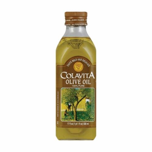 Colavita - Pure Olive Oil - Case of 12 - 0.5 Liter Perspective: front
