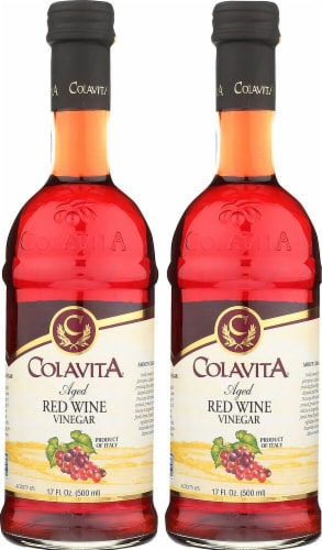 Colavita Aged Red Wine Vinegar Perspective: front