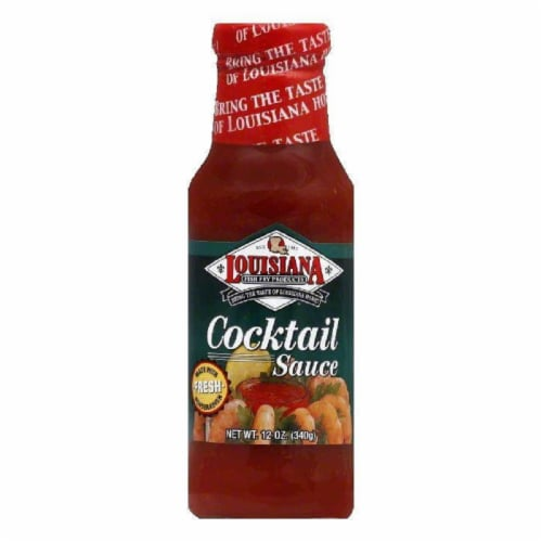 Louisiana Fish Fry Cocktail Sauce with Horseradish, 12 OZ (Pack of 12) Perspective: front