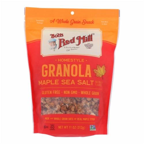 Bob's Red Mill - Granola Maple Sea Salt - Case of 6 - 11 OZ Perspective: front