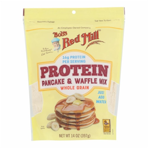 Bob's Red Mill - Mix - Pancake - Protein - Case of 4 - 14 oz Perspective: front