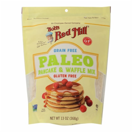Bob's Red Mill - Pancake Mix - Paleo - Case of 4 - 13 oz Perspective: front