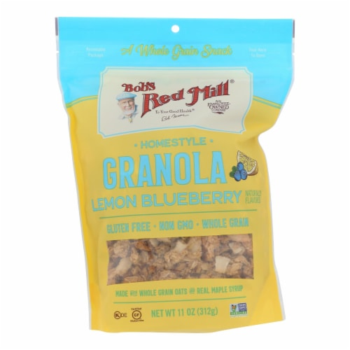 Bob's Red Mill - Granola Lemon Blueberry - Case of 6 - 11 OZ Perspective: front