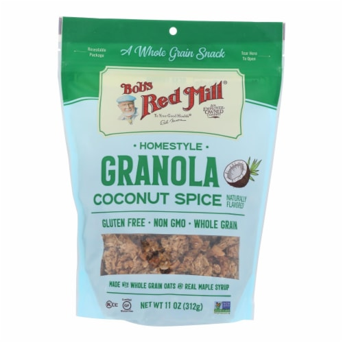 Bob's Red Mill - Granola Coconut Spice - Case of 6 - 11 OZ Perspective: front