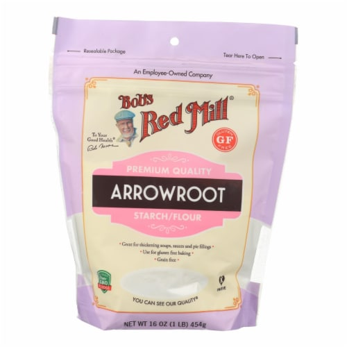 Bob's Red Mill - Arrowroot Starch - Case of 4-16 oz. Perspective: front