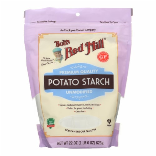 Bob's Red Mill - Potato Starch Gf - Case of 4-22 oz Perspective: front
