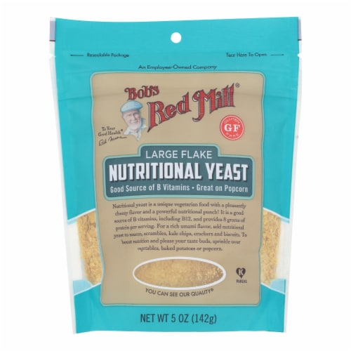 Bob's Red Mill - Yeast Nutritional L Flake - Case of 6-5 oz Perspective: front