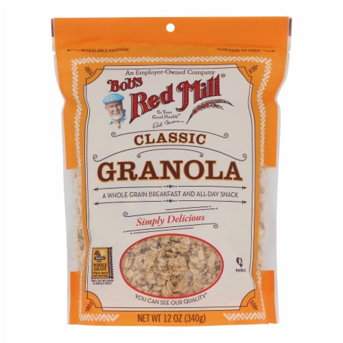 Bob's Red Mill - Natural Whole Grain Granola - 12 oz - Case of 4 Perspective: front