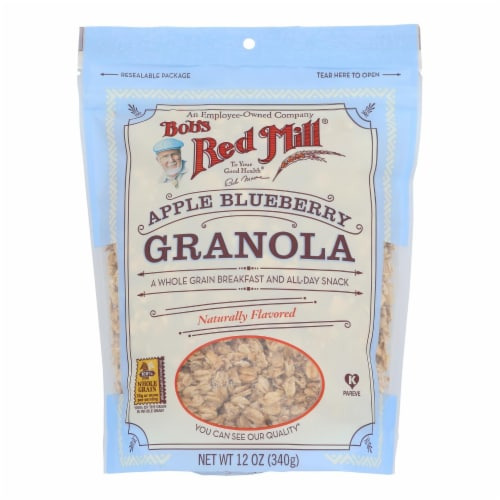 Bob's Red Mill - Apple Blueberry Granola - 12 oz - Case of 4 Perspective: front