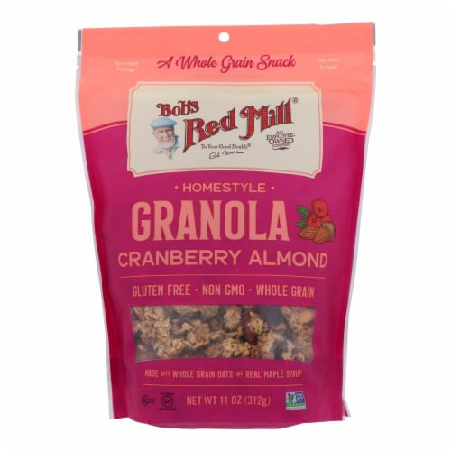 Bob's Red Mill - Granola Cranberry Almond - Case of 6 - 11 OZ Perspective: front