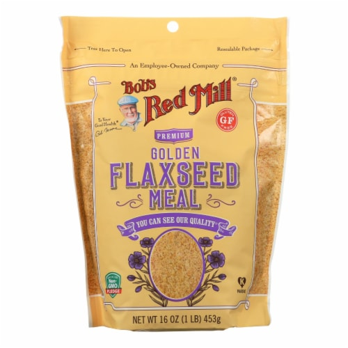 Bob's Red Mill - Flaxseed Meal - Golden - Case of 4 - 16 oz Perspective: front