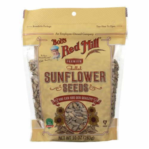 Bob's Red Mill - Seeds - Sunflower - Shelled - Case of 6 - 10 oz Perspective: front