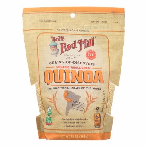 Bob's Red Mill Organic Whole Grain Quinoa - Case of 6 - 13 OZ Perspective: front
