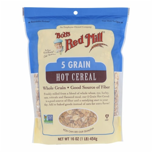 Bob's Red Mill - Cereal 5 Grain Rolled Perspective: front