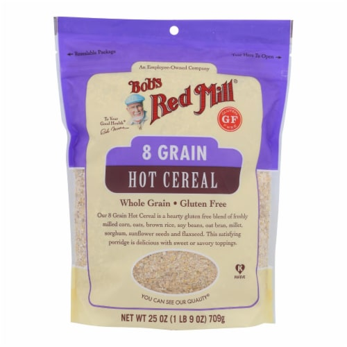 Bob's Red Mill 8 Grain Gluten Free Cereal Perspective: front