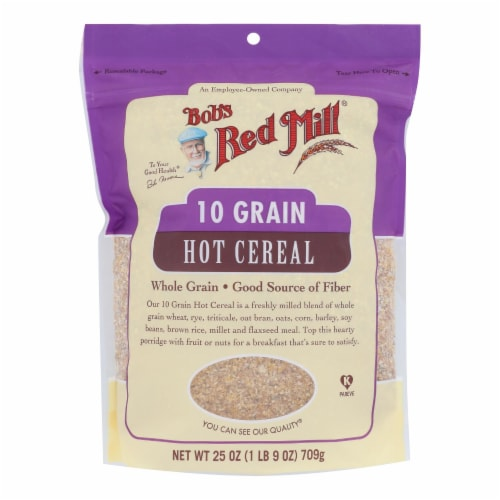 Bob's Red Mill 10 Grain Cereal Perspective: front