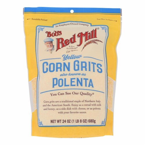 Bob's Red Mill® Polenta Yellow Corn Grits Perspective: front
